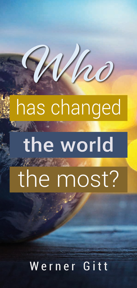 English: Who has changed the world the most?